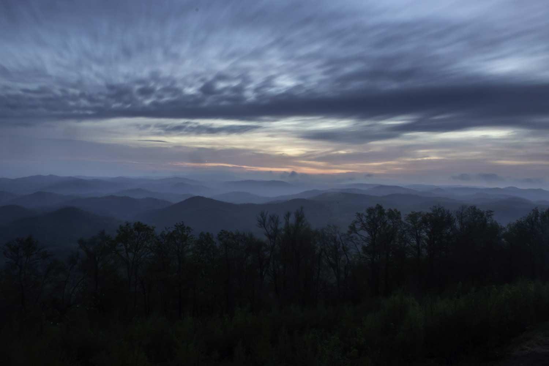 Sassafras Overlook at Dawn