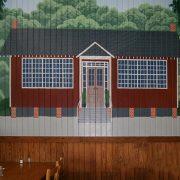 Scranton Schoolhouse BBQ Mural