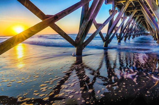 Sea Cabin Pier Cherry Grove