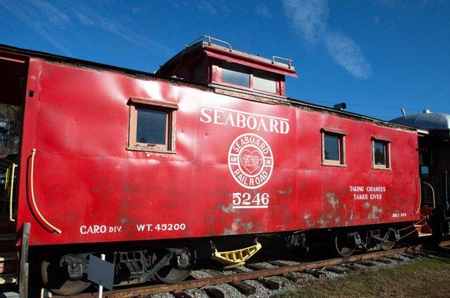 Seaboard Rail Car