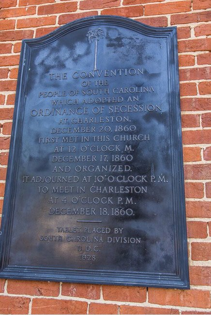 Secession Marker First Baptist