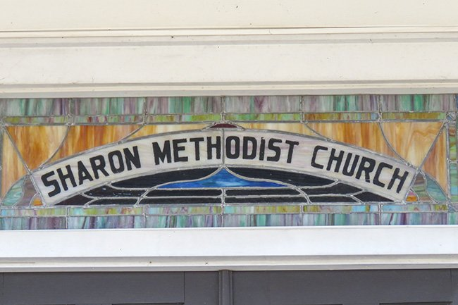Sharon Methodist Church Sign