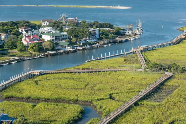 Shem Creek Crab Bank