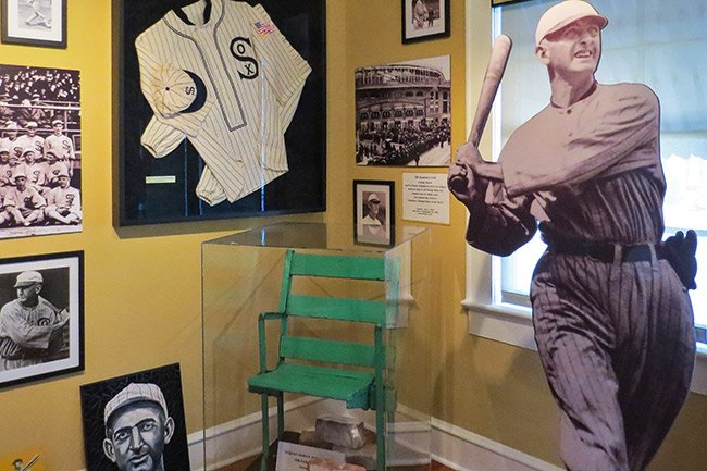 Shoeless Joe Jackson Exhibit