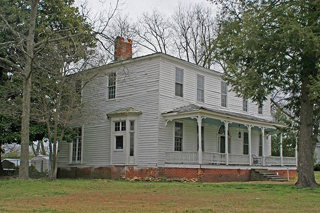 The Shrubs House in Union, South Carolina