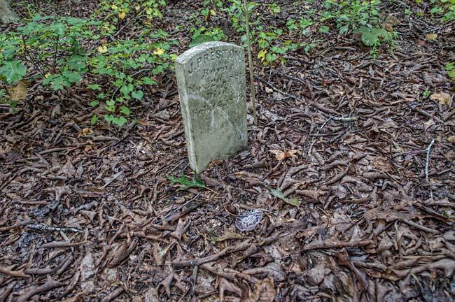 Silver Bluff Cemetery Gravestone
