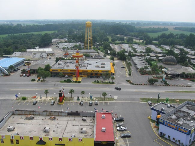 South of the Border Aerial