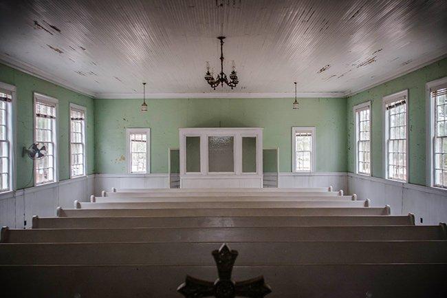Speedwell Methodist Interior