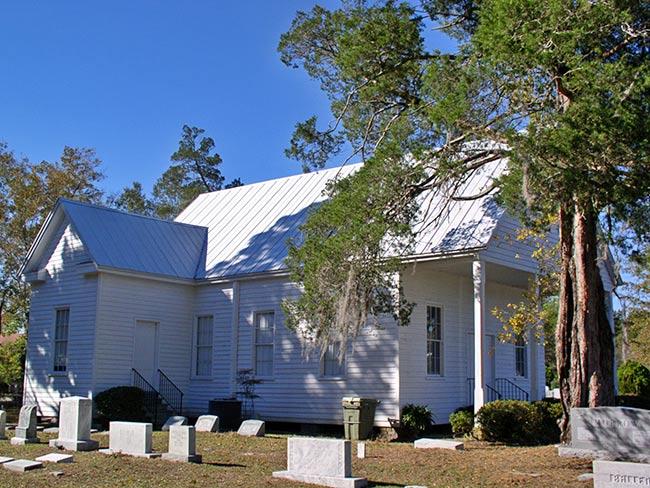 St. John's Baptist Church in Pinopolis