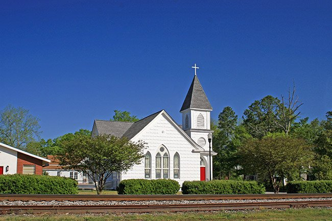 St. Johns Lutheran Church in Johnston, SC