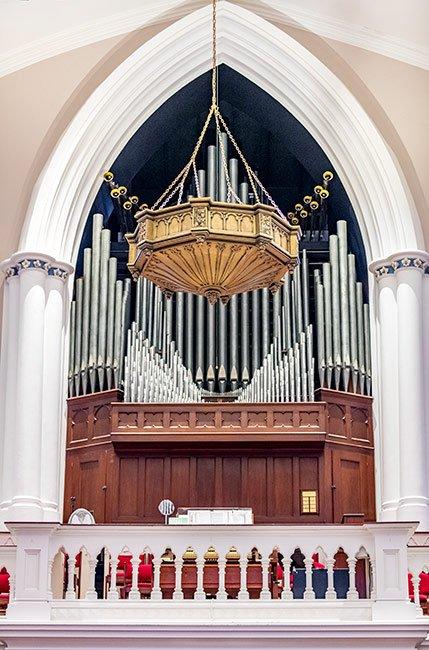 St. Matthews Organ in Charleston, Sc