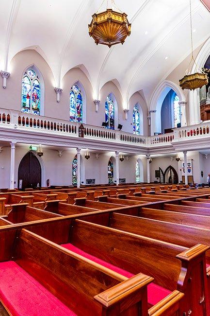 St. Matthews Pews in Charleston, Sc