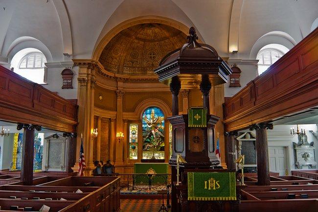 St. Michael's Interior