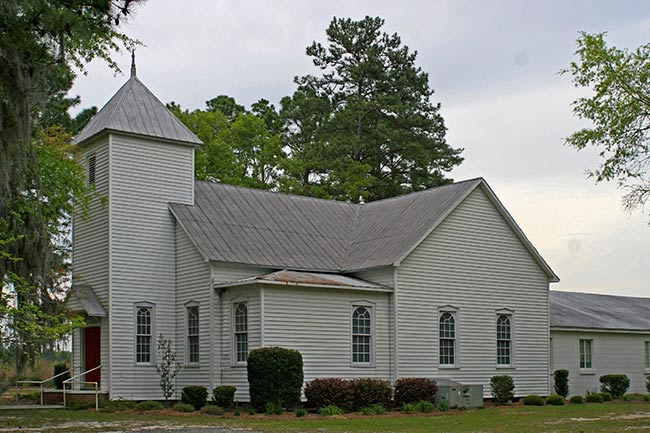 St Nicholas in Fairfax, SC, Side Elevation