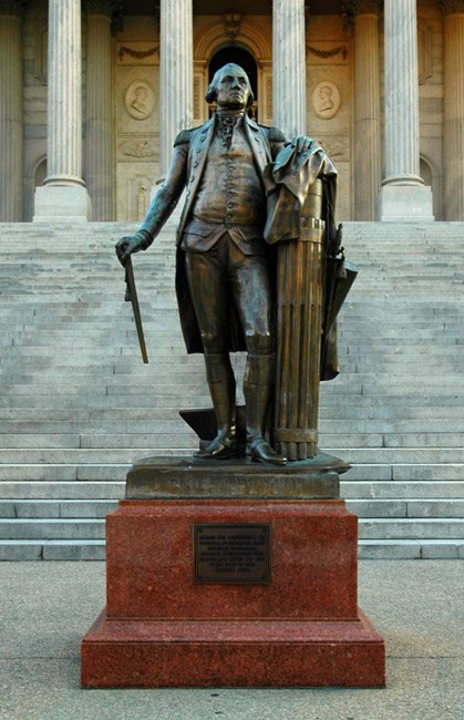 state-house-george-washington