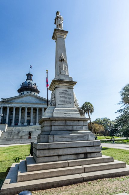 Statehouse Confederate Monument