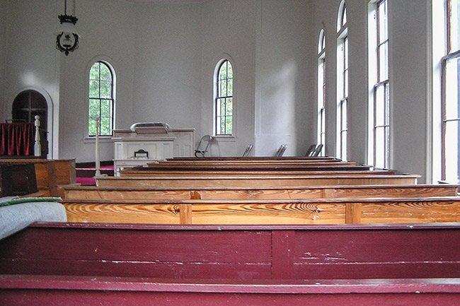 Stoney Creek Presbyterian Church Interior