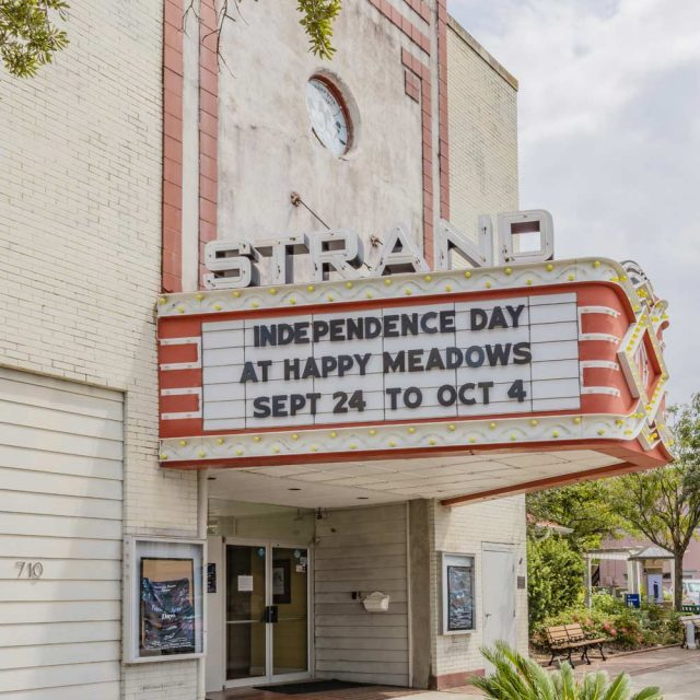 Strand Theater in Georgetown