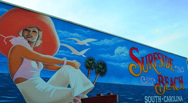 Surfside Mural