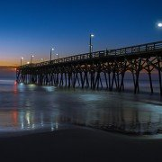Surfside Pier at Night