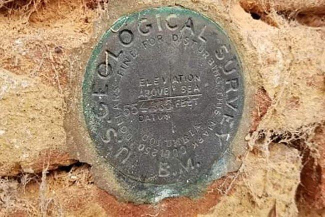 TG Patrick Store Geological Survey Marker