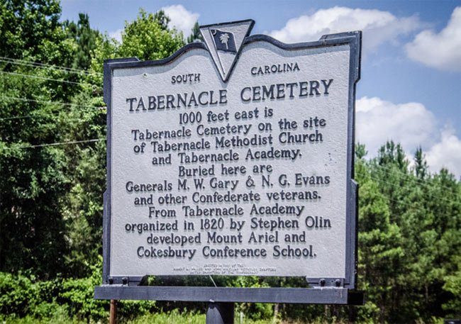 Tabernacle Academy Sign