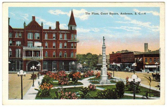 The Plaza, Court Square, Anderson
