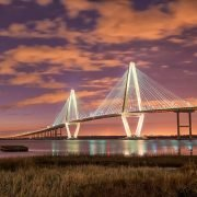 The Ravenel Bridge in Charleston