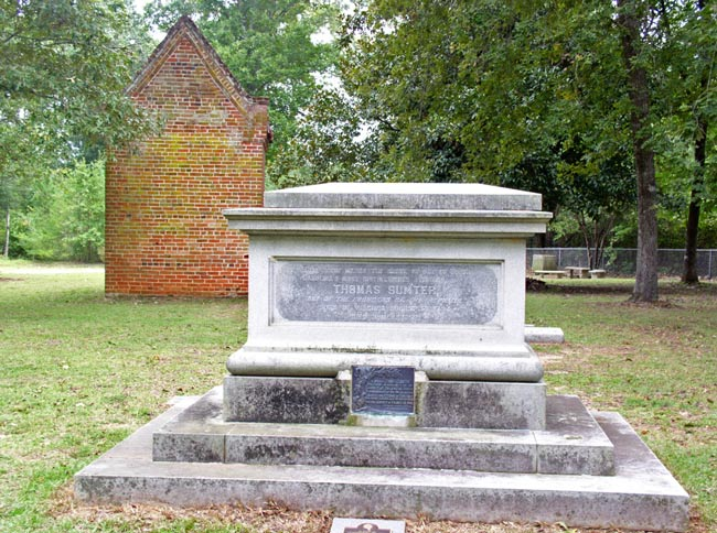 Thomas Sumter Burial Site