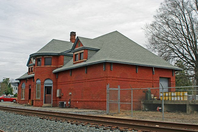 Train Depot in Union, SC
