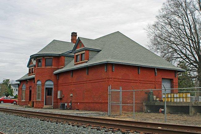 Train Depot in Union, SC