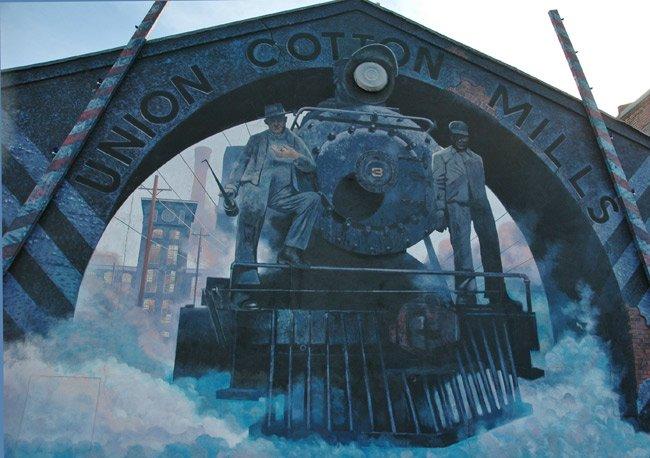 Union Mills Blue Sky