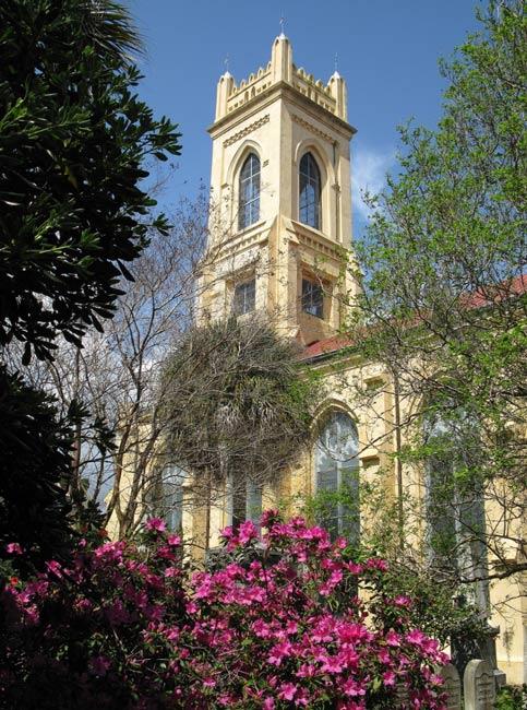 Unitarian Church Downtown Charleston