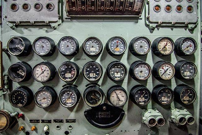 USS Yorktown Cluster Panel