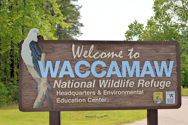 Waccamaw Wildlife Refuge Sign