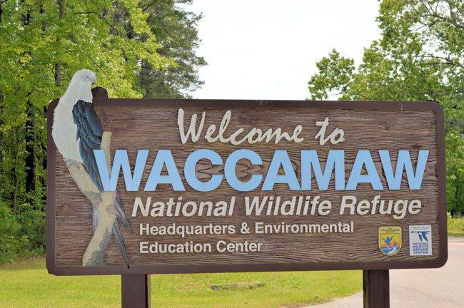 Waccamaw Wildlife Refuge Sign