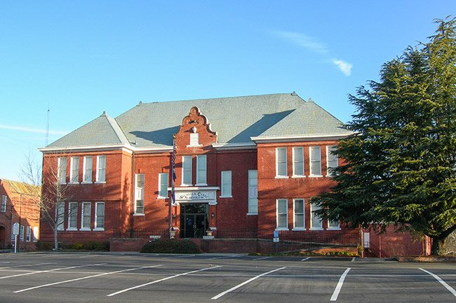 Walhalla Graded School Civic Auditorium