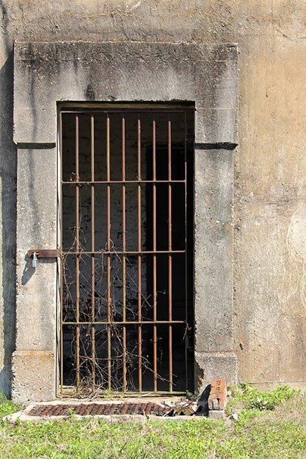 Walterboro Standpipe Cell Door Detail