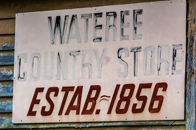 Wateree Country Store Sign