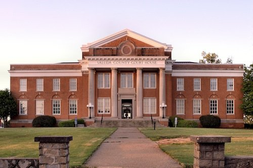 Saluda County Courthouse