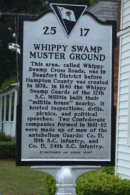 Whippy Swamp Muster Ground