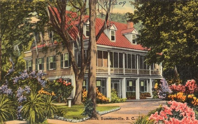 White Gables Postcard