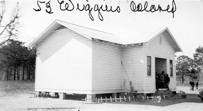Wiggins SC Colored School