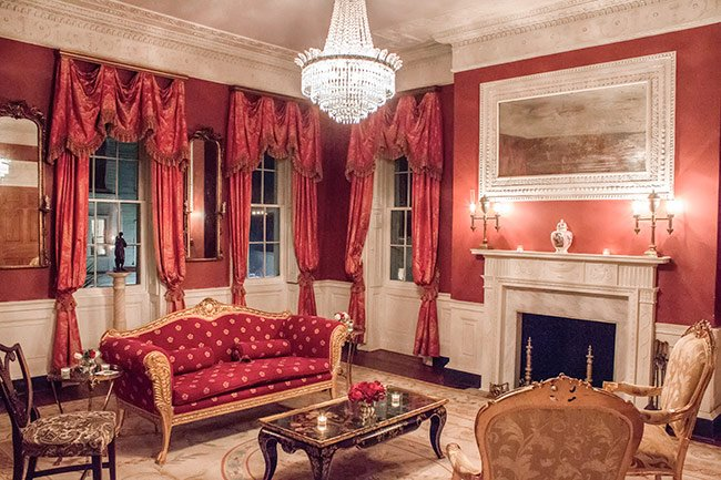 William Aiken House Upstairs Drawing Room