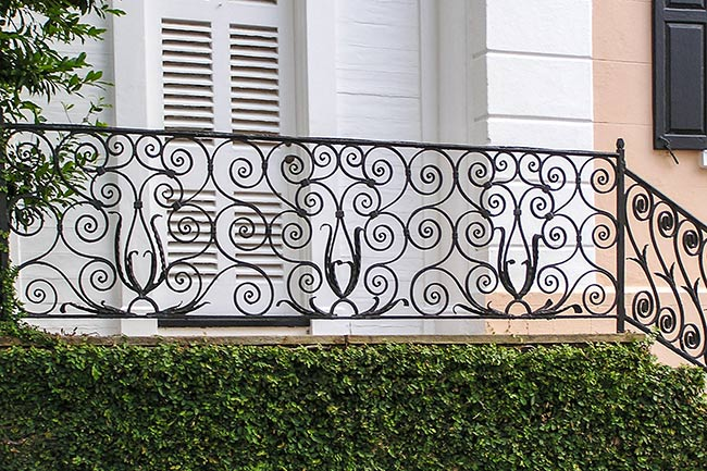 William Rhett House Railing