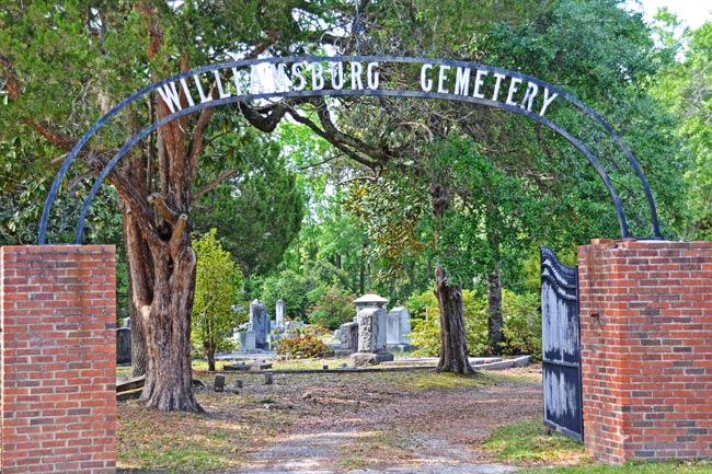 Williamsburg Cemetery Gate