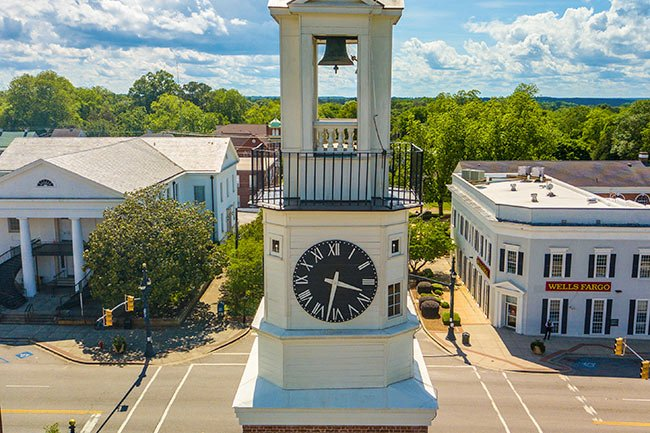 Winnsboro Town Clock