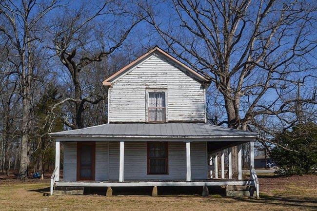 Zeno Hicks House, Side View