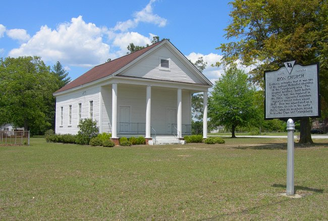 Zion Church Orangeburg